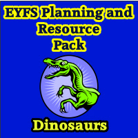 Dinosaurs Planning and Resource Pack on CD