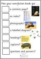 Non-Fiction Checklist