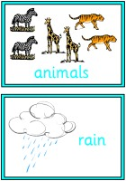 Noah's Ark Vocabulary Cards
