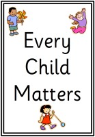 Every Child Matters Display