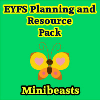 Minibeasts Planning and Resource Pack on CD