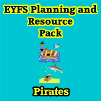 Pirates Planning and Resource Pack on CD