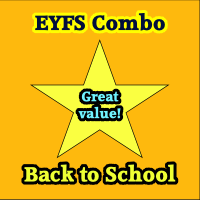 EYFS/Reception Back to School Combo Deal