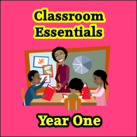 Year One Classroom Essentials CD