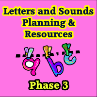 Phase 3 Letters & Sounds, Planning and Resource CD
