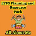All About Me Planning and Resource Pack on CD