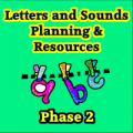 Phase Two Letters & Sounds, Planning and Resource CD